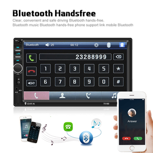 "Image 5 - AMPrime 7018B Autoradio 2din Car Radio Multimedia MP5 Player 7"" Auto Stereo Bluetooth 2Din Auto Mirrorlink TF/USB/FM With camera"