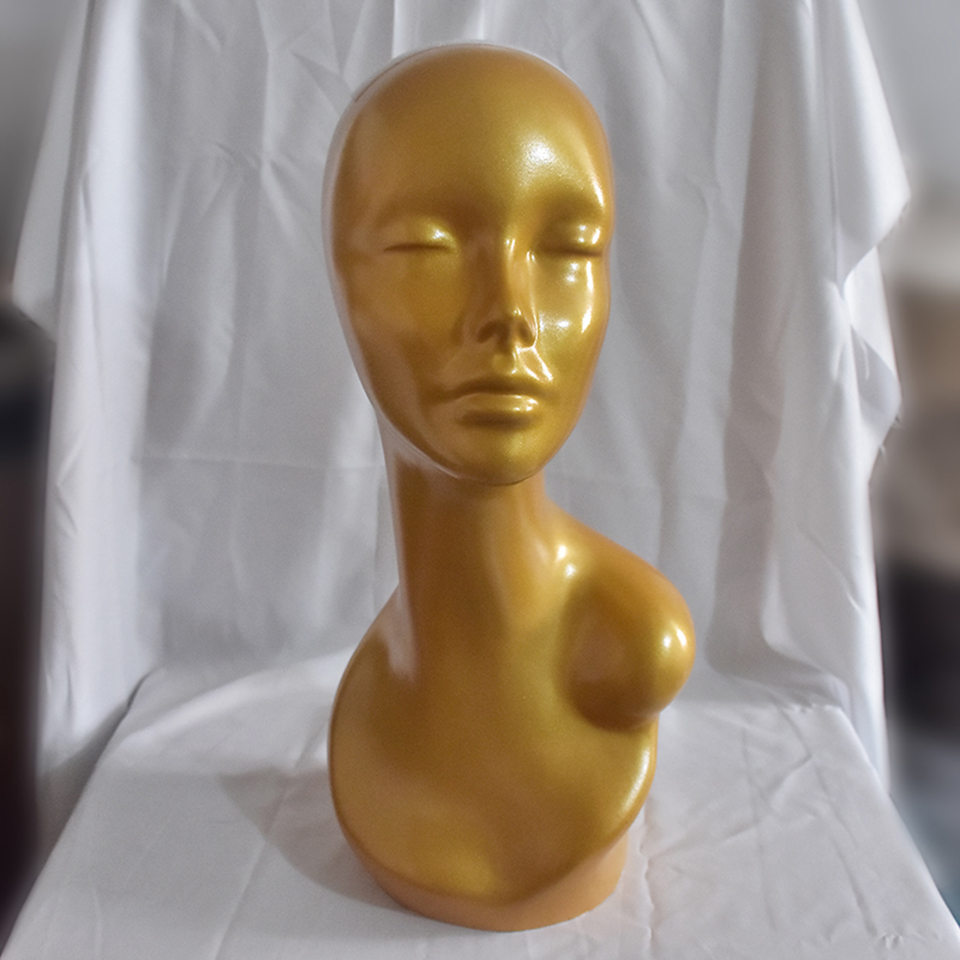 Head Mannequin Stand Female Mannequin Head For Wigs /Hat Displaying Cosmetology Manikin Head Model For Wig