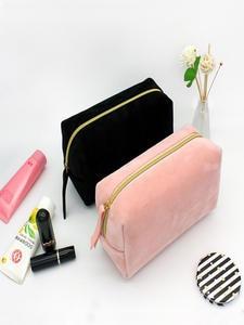 XZP Cosmetic-Bag Toiletries-Organizer Storage Travel Multifunction Female Solid-Color