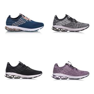 Image 2 - (Break Code) li Ningผู้หญิงBUBBLE ARCรองเท้าวิ่งMonoเส้นด้ายCushioningซับถุงเท้าLi Ningกีฬารองเท้ารองเท้าผ้าใบARHN014 XYP650