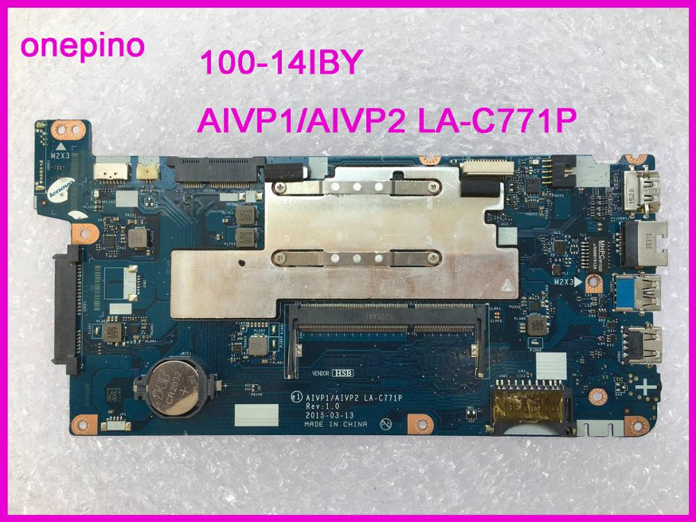 LA-C771P Fit For 100-14IBY Motherboard AIVP1/AIVP2  Laptop Motherboard Tested 100% Work