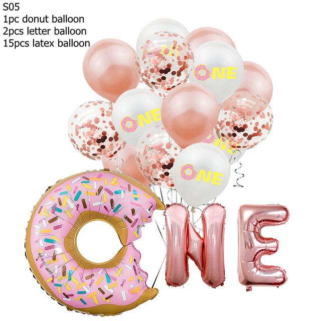 16Inch-Birthday-Party-Balloons-Rose-Gold-Two-Sweet-Donut-2-Years-Old-Aluminum-Foil-Balloons-For.jpg_640x640 (3)