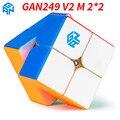 Оригинальный Gan249 V2 M 2x2x2 Магнитный магический куб Gan Air Gan 249 V2 M Gan CubePuzzle игрушки для детей - фото