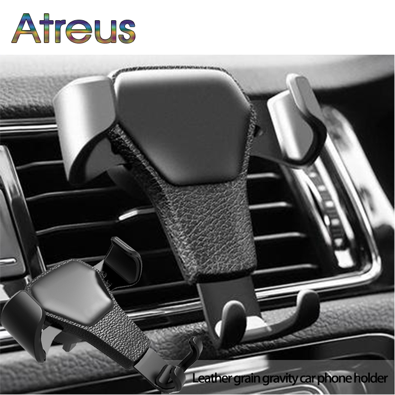 Gravity Car Styling Mobile <font><b>Phone</b></font> <font><b>Holder</b></font> For Chevrolet Cruze Aveo Peugeot 307 308 Seat Leon 2 <font><b>Mazda</b></font> 3 <font><b>6</b></font> CX-5 Renault Dacia Duster image