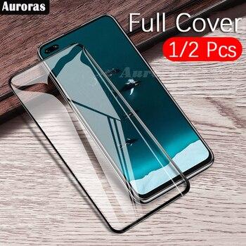 Перейти на Алиэкспресс и купить Auroras для Realme X3 Защитная пленка для экрана 9D полностью закаленное стекло для Realme X3 суперзум стеклянная пленка