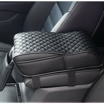 Universal Car Armrest Box Mats Memory Foam Vehicle Arm Rest Box Pads Leather Center Console Covers Styling Interior Accessories upgraded car styling car arm rest accessories accessory mouldings protector automobiles armrest box 02 03 04 for chevrolet sail