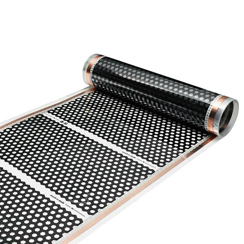 Hot Floor Heating 50CMx2M Honeycomb Heater Electric Infrared Heated Floor Film 220V
