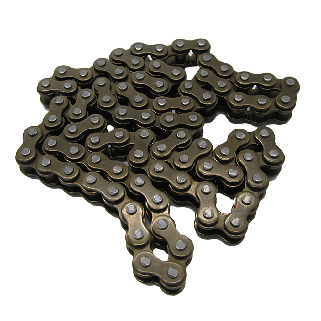 Motorcycle Dirt Bike Drive Chain - 25H 84 Links For 100cc 110cc