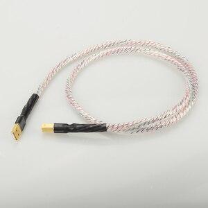 Image 5 - Hifi Nordost Valhalla topklasse Verzilverd + schild Usb kabel Hoge Kwaliteit Type A naar Type B Hifi data Kabel Voor DAC