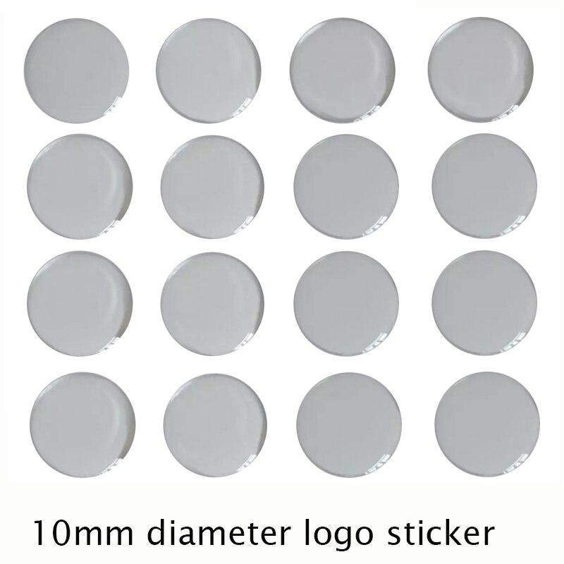 10 мм MQB эпоксидная наклейка для ключа автомобиля с эпоксидным материалом
