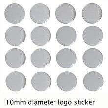 10 мм MQB эпоксидный логотип автомобиля наклейка с эпоксидной смолой Материал