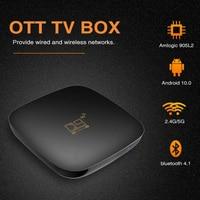 2021 Smart TV Box Android 10 Smart TV Box HD 3D 4K 1080P Quad Core Media Player Video 2,4G 5GHz Dual Wifi Bluetooth Set Top Box