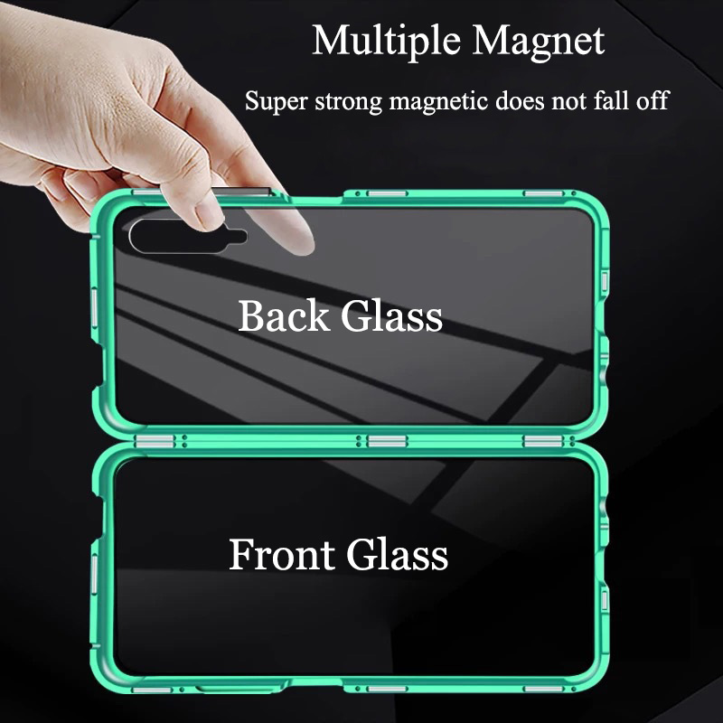 Magnetic Metal Case For Xiaomi CC9 Pro 9T 9SE 8SE CC9E Phone Cover For Mi 8 9 Mix 2S Max 3 Mix 3 All-inclusive protection Cover