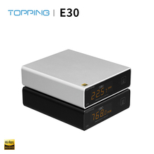 TOPPING E30 dac HIFI XMOS XU208 USB DAC AK4493 32bit/768k DSD512 Hi Res AUDIOwith Remote control COAX OPTICAL DSD Volume Bypass
