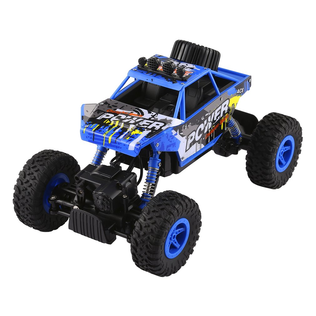 OCDAY Boys RC Remote Control Cars 2.4GHz 4WD Rock Crawlers Rally Climbing Car High Speed Bigfoot Racing Model Off Road Car Toy