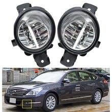 2 pçs (esquerda + direita) led luz de nevoeiro h11 lâmpada de halogênio para nissan teana j32 para nissan platina 2002 2003 2004 2005 2006-2010