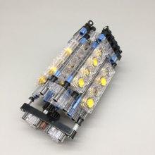 Moc W16-Engine peças técnicas de construção do motor w16/12 v8 conjunto mecânico a granel juguetes