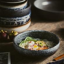 Japanese Style Ceramic Restaurant Boiled Fish Large  Bowl Ceramic Spicy Incense Pot Dish Bowl Large Household Dinner Bowl