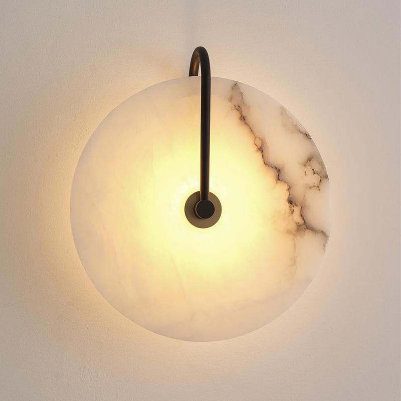 projeto do hotel marmore luz parede para restaurante cafe luzes 04