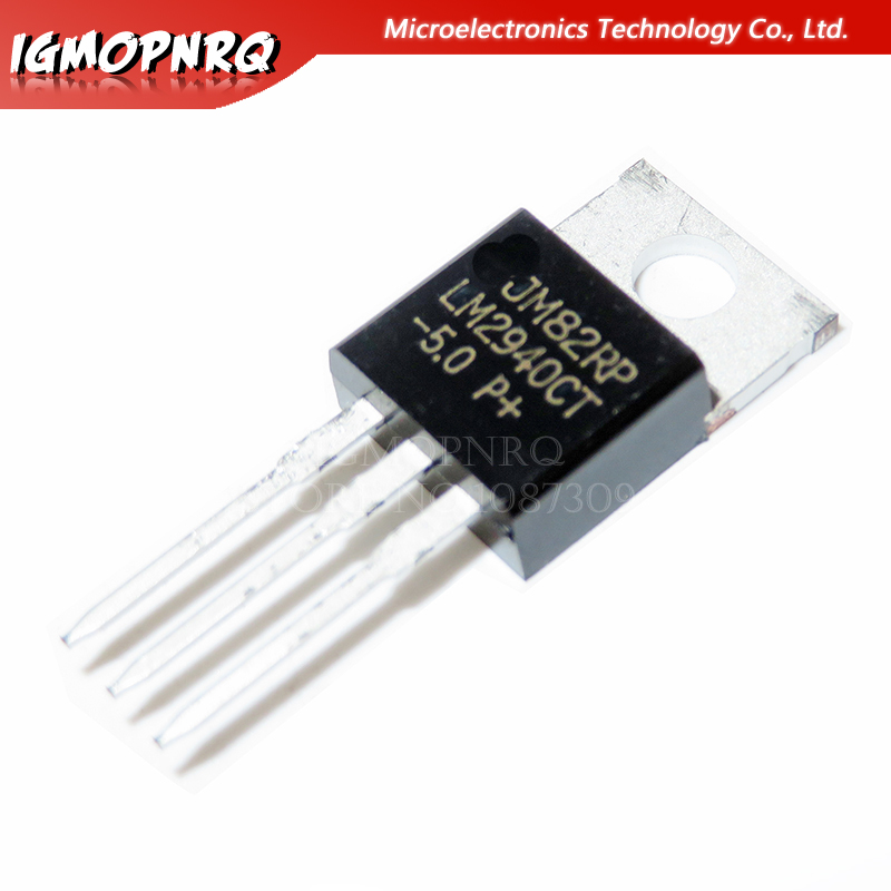 10PCS LM2940CT-5.0 TO220 LM2940CT-5 TO-220 LM2940-5.0 LM2940CT new and original IC image