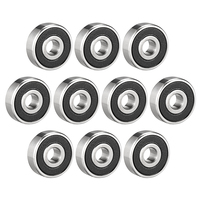 uxcell Deep Groove Ball Bearing 623 629ZZ/RS Double Shield/Sealed Chrome Steel Bearings 627 2RS (10Qty)|Bearings| |  -