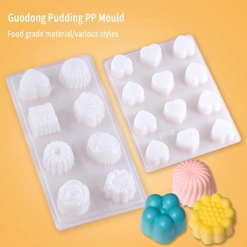 Formy galaretki forma na Pudding dla dzieci formy DIY na czekoladowe cukierki lód spożywczy PP DIY pieczenie w kuchni formy tanie i dobre opinie CN (pochodzenie) Na stanie Ekologiczne