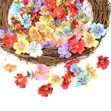 Silk Orchid Head Flower Diy Artificial-Flower Home-Decoration Mini Real-Touch Wedding