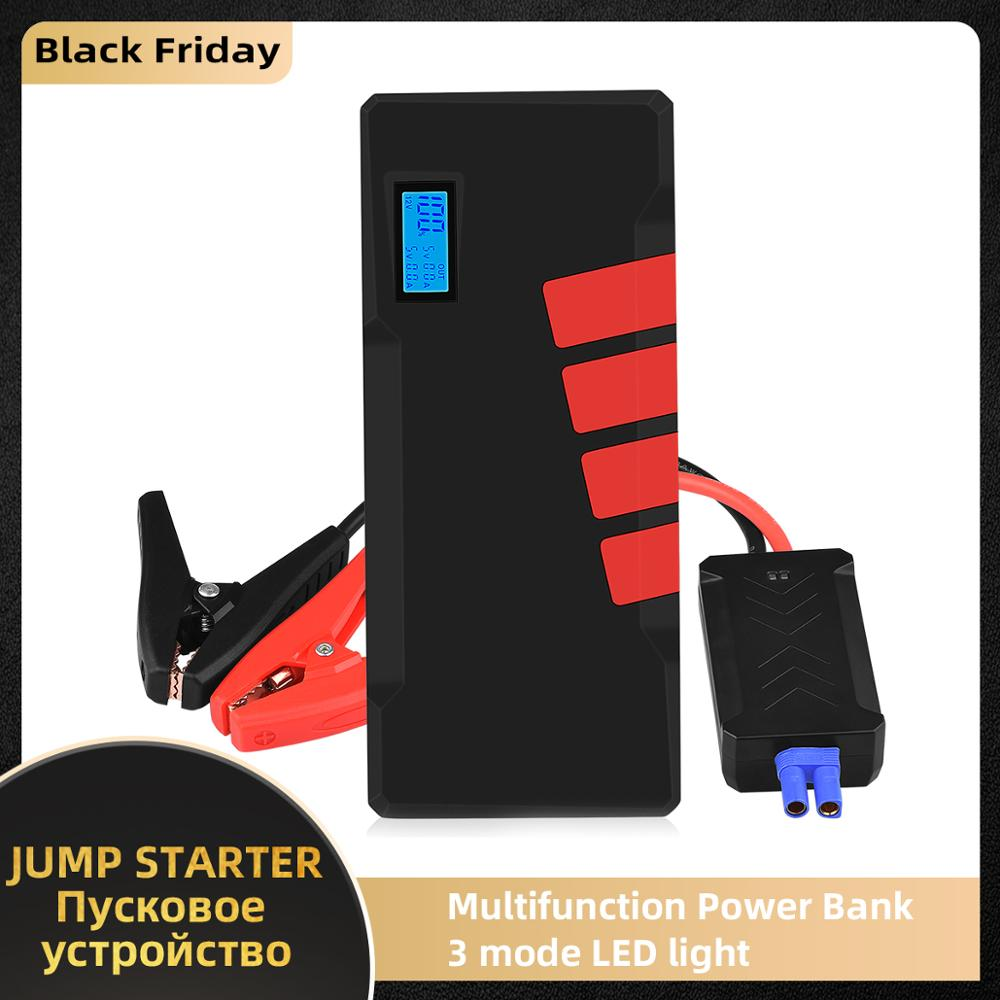 20000mAh Car Jump Starter 1500A Vehicle Emergency Battery Auto buster Battery Car Booster Starter starting device Power Bank-in Jump Starter from Automobiles & Motorcycles on