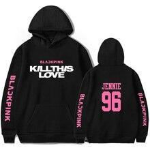 blackpink kill this love Hoodie Pullover Men Women Fashion Casual Long Sleeve Hoodie Pullover Teens Outdoor Sweatshirt