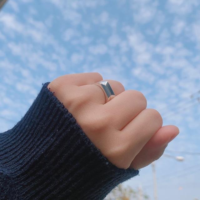 1 Pair Kpop BTS ARMY Letter Couple Ring Custom Box 5