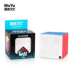 Moyu cubing klaslokaal meilong 12x12x12 Cube Magic Speed 12x12 cubo Mofangjiaoshi