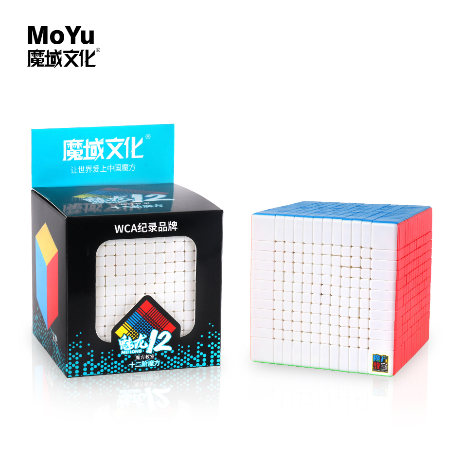 Moyu Cubing Classroom Meilong 12x12x12 Cube Magic Speed 12x12 Cubo Mofangjiaoshi