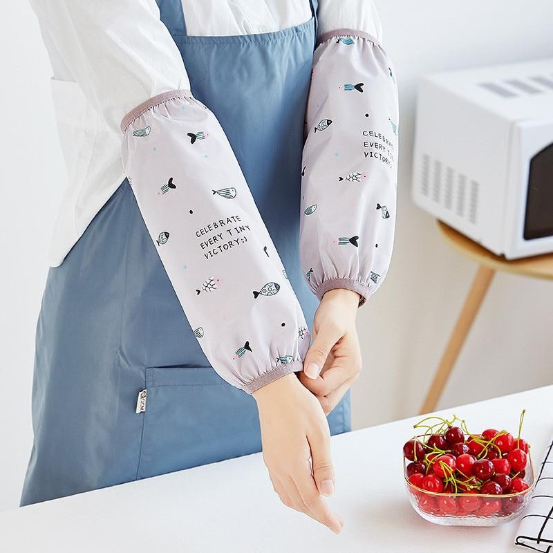 Case Water Love Ji Qiu Kitchen-Hand Cuff May Oil Case Public Sleeve Sleeve Anti-Men's Do Women's Service Anti-Arm Home Winter Lo