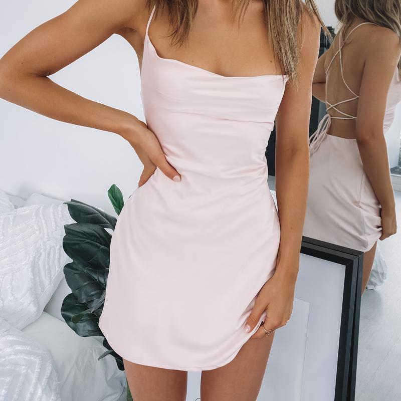 2020 Vrouw Jurken Komen En Krijgen Party Dress Blush Vestidos De Fiesta De Noche Zomer Jurken Casual