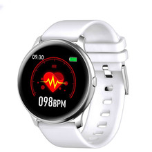 цены 2019 Women Smart Watch Men Waterproof IP67 Heart Rate Blood Pressure Oxygen Sports SmartWatch Men For Android Apple Phone Watch