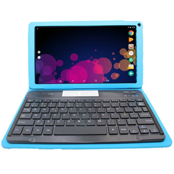 G7 10.1 Inch Tablet PC with  Original Bluetooth Keyboard Case 1024 x 600 pixels Cortex A33 Quad-Core Android 6.0 1+16GB colorful