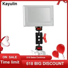 """Kayulin New Design Flexible Articulating Arm With Double End Ball Head 1/4"""" 20 Screw Adapter For Monitor Light Audio Recorder"""