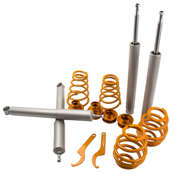 ADJUSTABLE COILOVERS KIT FOR BMW E30 saloon E30 320i / 323i / 325i / 324D / TD Saloon COILOVER Strut SHOCK ABSORBER image