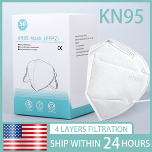 Ship To USA face maskes kn95mask facemasks n95mask Reusable ffpp2 filter(China)