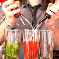 4Pcs Stainless Steel Wine Bottle Stopper Restaurants Bar Supplies Bottle Spout Olive Oil Wine Pourer Dispenser Tools