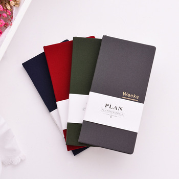 2020 Classic hardcover office school person weekly planner notebooks stationery supplies,fine student agenda planner organizer фото