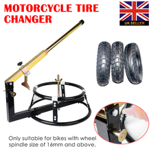 Portable Motorcycle Bike Tire Changer 16+ Wheel Repair Tools Simple
