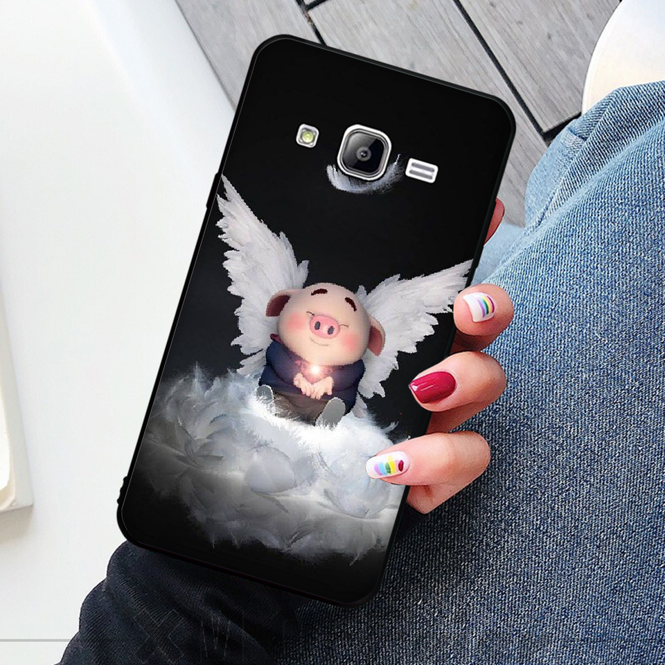 Byloving Cute Pig Wallpaper Phone Case Capa For Samsung J2 Prime J2 Pro J4 J4plus J415 J6 J6 Prime J7 Plus J7 2018 Half Wrapped Cases Aliexpress