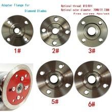 High Quality Metal Cut Adapter Flange For Diamond Blade Flush Cut Blade Adapter M10/M14 Tool Parts M10 M14 Flange Screws