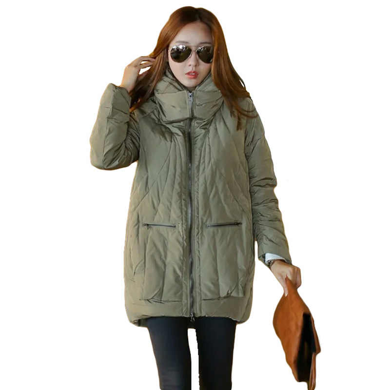 Winter jacket women hooded long Slim down coat warm outwear women large size white duck down jacket female winter thick coat