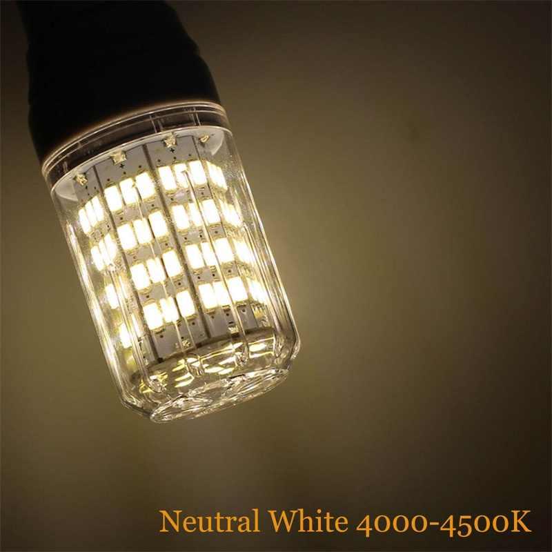 5730 SMD Super lumineux 110V lampe épis de maïs LED ampoule E27 E12 27LED s 7W LED projecteur pas de scintillement lustre lampes d'éclairage à la maison