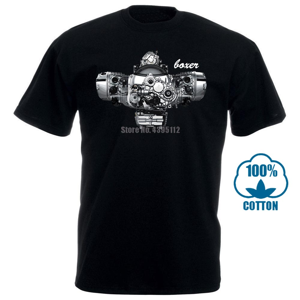 Boxer Engine R1200Gs <font><b>Gs</b></font> R Adventure R1200Rt R1200R Black <font><b>Tshirt</b></font> 9799 image
