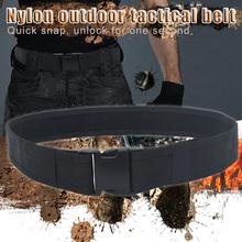 1 2M pas nylonowy męski pasek na zewnątrz klamra pasek płócienny trwały odporny na rozdarcie pas biodrowy SEC88 tanie tanio Uniwersalny CN (pochodzenie) polyester Belts