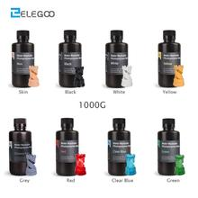 ELEGOO Water Washable 3D Printer Resin LCD UV-Curing Resin 405nm Standard Photopolymer