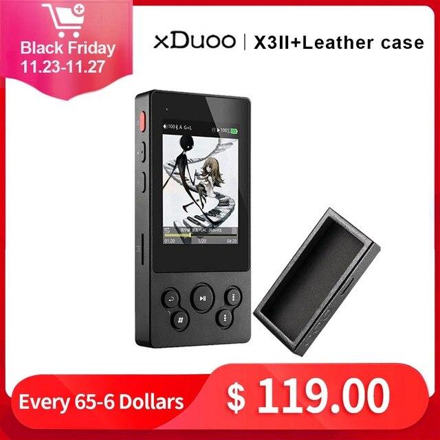 XDuoo X3II X3 ii hi fi lecteur mp3 portable lecteur mp3 bluetooth lecteur de musique sans perte dsd hi res lecteur bluetooth flac wav